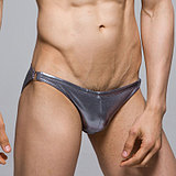 正品looch超低腰性感男士泳裤男小三角泳裤男式泳衣游吊环泳裤