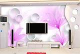 清新花卉简约现代瓷砖电视背景墙 3D立体壁画 陶瓷影视墙砖画百合