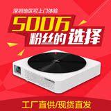 极米Z4X家用投影机无屏电视3D智能4K微型LED高清1080p办公投影仪