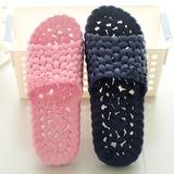 夏季浴室拖鞋居家室内漏水防滑男女情侣洗澡家居软按摩塑料凉拖鞋