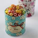 澳洲创意进口水果手工麦芽切片棒棒糖果生日礼盒散装喜糖批发lab