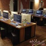 厂家直销网吧桌椅网吧电脑椅网咖沙发一体电脑桌椅办公桌椅