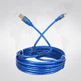 高品质数据线 5米长 miniUSB数据线 无线网卡 数码相机数据传输线