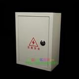 包邮配电箱 动力箱400*300*160 强电布线铁箱空箱(明装  户外)
