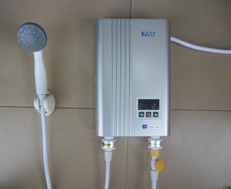 堡斯莱bsk-a58iii 即热式电热水器6kw厨房洗澡淋浴器美的万和创高商品图片