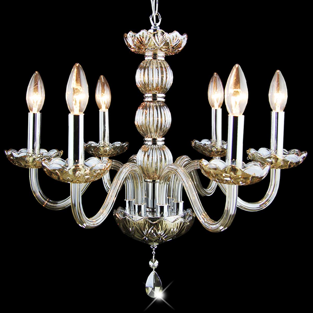 现代简约欧式蜡烛水晶吊灯餐厅卧室客厅意大利风格酒吧台吊灯1189图片