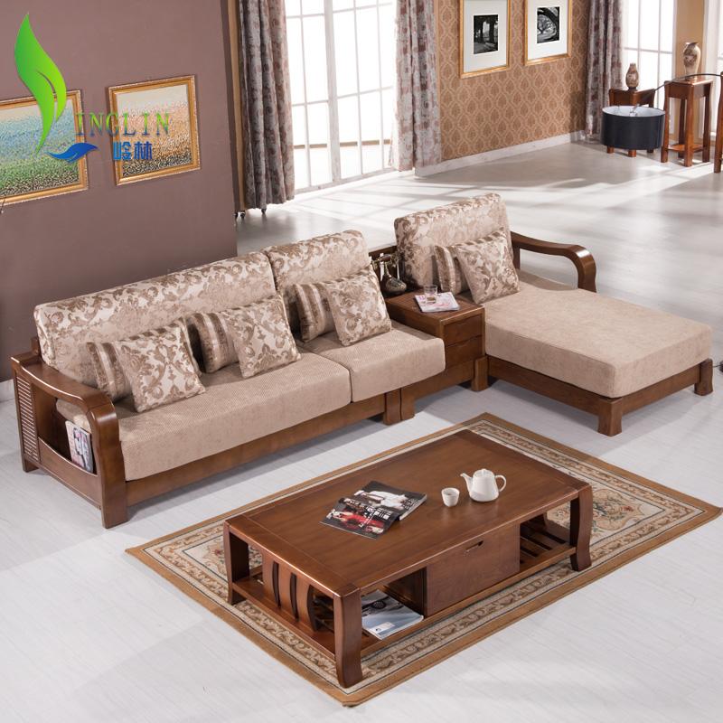 水曲柳实木沙发