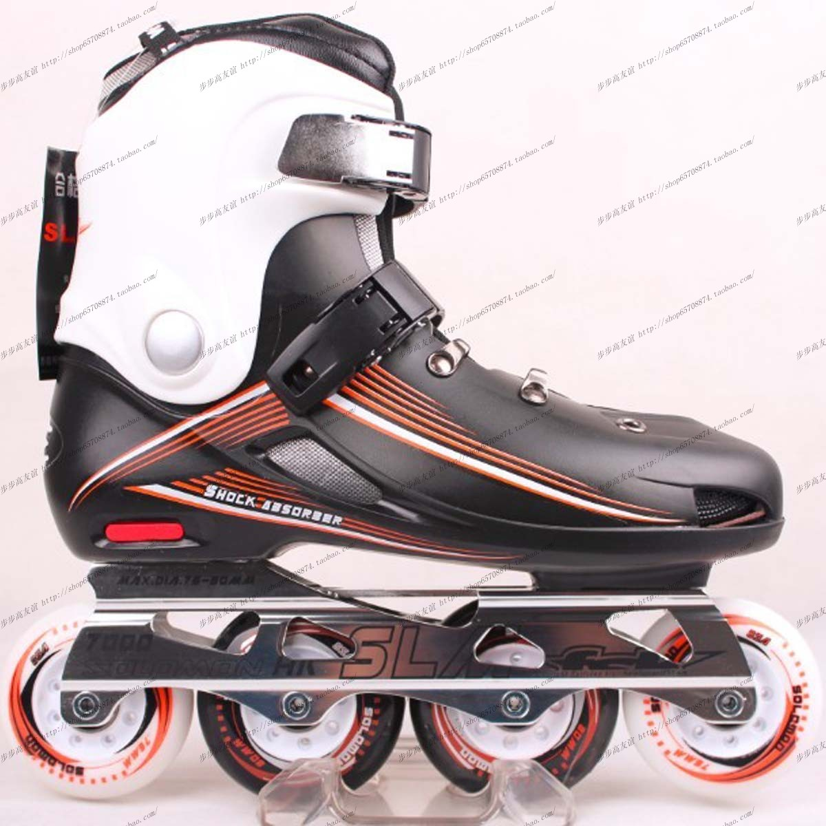 香港所罗门slm轮滑鞋直排轮男女滑冰鞋正品 轮滑鞋 成年人平花鞋商品
