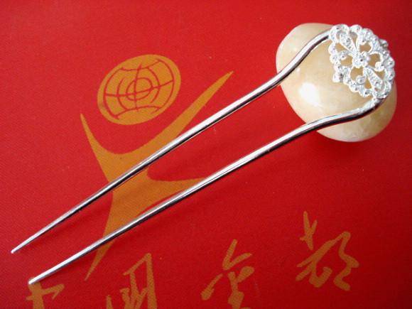 古代银簪,999银簪报价图片