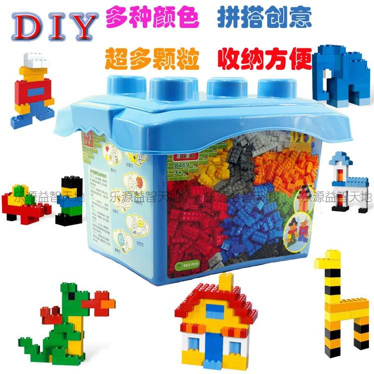 邦宝小积木diy颗粒桶装方法8469乐高式拼装儿童积木益智玩具商品写积木的说明玩具500图片