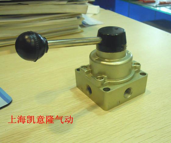 手转阀 手动阀 hv-02 三位四通手动换向阀 2分接口商品图片价格图片