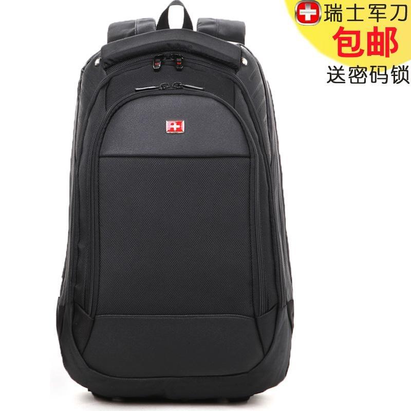 瑞士军刀双肩包商务休闲旅游电脑男士背包旅行男包女书包高中学生商品