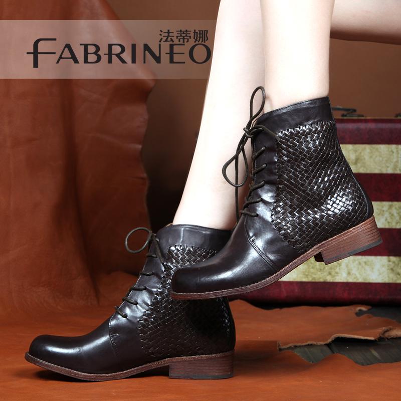 2014秋季新款女靴子创美诗艾曼达森琦贝尔专柜正品短靴旗舰店女鞋商品图片