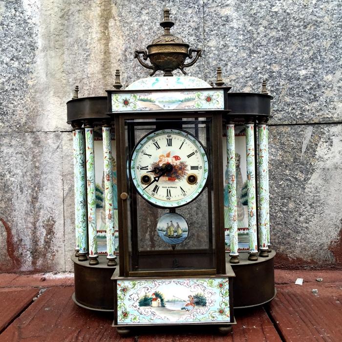 老式钟表座钟 机械图片
