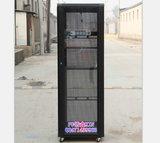 1.8米 37U黑色图腾款网络机柜600*600*1800 标准19寸网络监控机柜