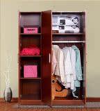 简易宜家板式三四3门4门衣柜大容量储物柜儿童柜衣橱阳台柜
