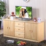 实木电视柜组合松木电视柜简约储物柜矮地柜卧室柜餐边柜定制包邮