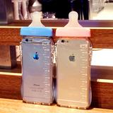 奶瓶奶嘴 iphone6手机壳 苹果6s保护套 4.7寸可爱卡通带挂绳硅胶