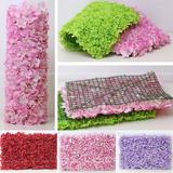 婚庆t台道具地毯路引绢花仿真加密绣球地毯大块婚礼花墙排花假花
