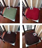 外贸原单~现代简约宜家风乡村防滑记忆绵办公室座椅垫餐椅垫坐垫