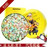 千纸鹤七彩糖礼盒装小黄人礼盒糖果送男女友儿童创意生日礼物包邮
