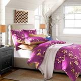 美式四件套全棉春秋冬季1.8m床简约双人婚庆特价纯棉2米床上用品
