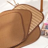 加厚藤席坐垫夏凉垫餐椅垫夏天凉席垫子办公座椅垫靠垫椅子套包邮
