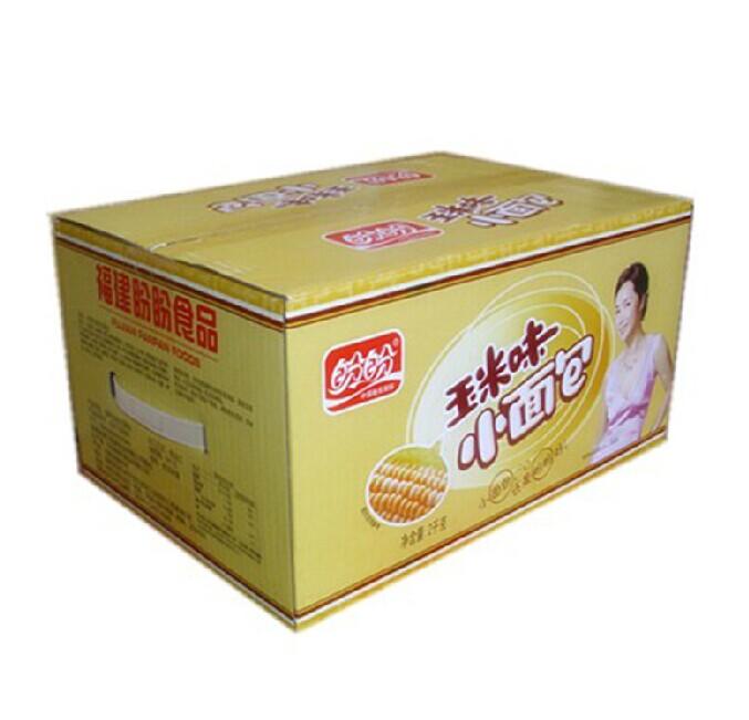 盼盼法式小面包玉米味 整箱特价批发 一箱4斤 多省事包邮商品图片价格图片