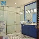 北欧/宜家卫浴柜组合洗手台洗脸面盆双人大理石洗漱池浴室柜定制