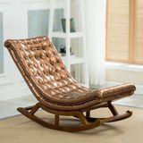 杰尼特实木躺椅午休椅子客厅午睡摇椅靠背椅休闲懒人椅沙发椅