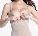 美体塑身内衣套装 简约夏季透气纯棉 瘦身分体塑型装女