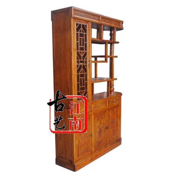 特价 明清中式仿古家具 玄关柜 客厅实木隔断 雕花福字玄