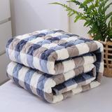 法兰绒毛毯防滑床单单件加厚法莱绒毯珊瑚绒双层单双人毯子1.8米