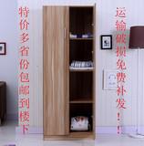 宜家简易组合单门2门3门5门顶柜储物实木质大小衣柜儿童衣柜衣橱