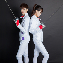 Zhang brand fencing Clothing Set children's fencing clothes three-piece flower wear clothing 350N can participate in the competition CE certification