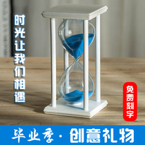 Creative Christmas Gift Hourglass Timer 30 60 Minutes desk wine cabinet living room decorations Decoration