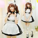 【Angel's Feather】日本超人气萌系铃铛小猫咪黑白女仆装COS服装