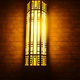 户外防水防锈仿云石壁灯 不锈钢墙壁灯 酒店大堂别墅大门壁灯户外