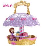 正品美泰芭比娃娃儿童益智玩具迪士尼公主苏菲亚之空中茶会CHJ31