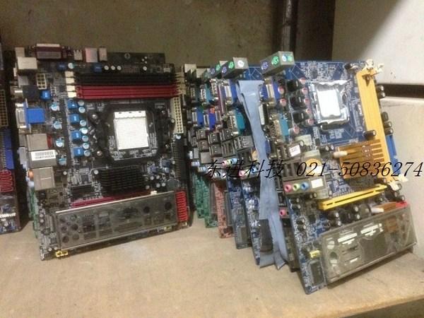 拆机技嘉 华硕 微星等二手945 g31 g41主板775针集成显卡DDR2内存图片