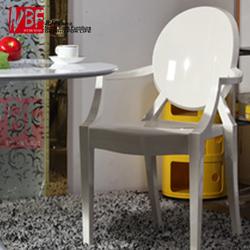 简约现代餐椅宜家个性创意休闲时尚ghost chair魔鬼幽灵精灵椅子