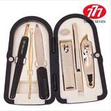 韩国正品777指甲剪 指甲刀套装美甲指甲钳DS-4000G镀金套装