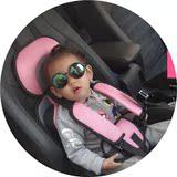 便携式儿童安全座椅汽车用小孩1-12岁五点式婴儿宝宝简易车载坐垫
