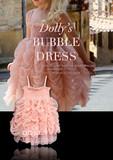 部分鲜花!DOLLY泡泡连衣裙,公主裙满月百日周岁礼服,正品代购