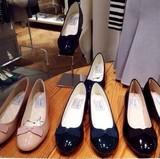 16春季snidel内增高蝴蝶结单鞋圆头低帮百搭简日系女鞋时尚气质潮