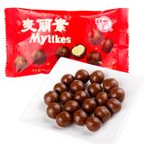 梁丰麦丽素 25g 代可可脂 牛奶巧克力糖果 80后经典零食 休闲美食