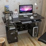 特价时尚亮面台式电脑桌烤漆 家用实用简易办公桌书桌写字台简约