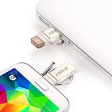 忆捷正品 32g优盘 otg手机U盘32g USB3.0高速金属手机电脑两用v90
