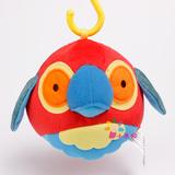 3-6个月婴儿布球铃铛手抓球响铃球0-1岁宝宝车床可挂摇铃软球玩具