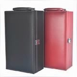 红酒盒拉菲葡萄酒红酒木盒双支高档酒具礼盒高档皮盒箱